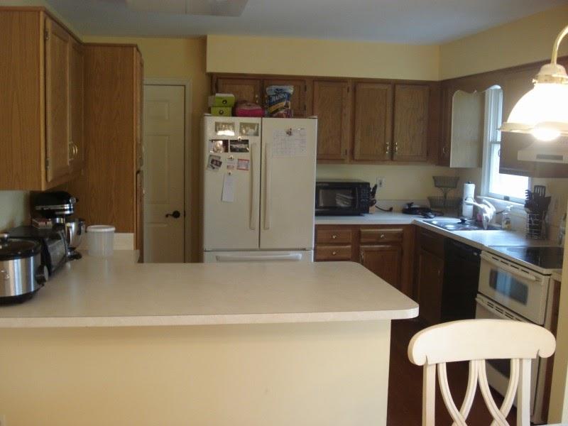 Our Pinteresting Family Kitchen Cabinet Redo Beadboard