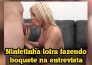 Video porno gratis de loira fudendo gostoso