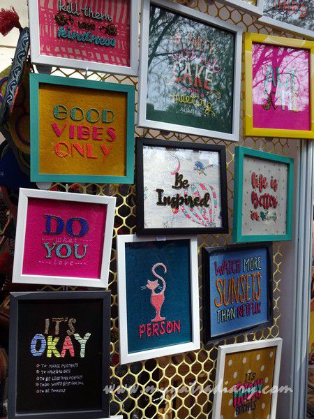 Be inspired at the Visual arts, Kala Ghoda Arts Fest, Rampart Row, Fort.