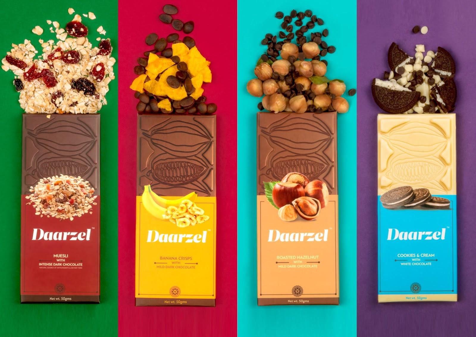Daarzel Chocolates On Packaging Of The World Creative