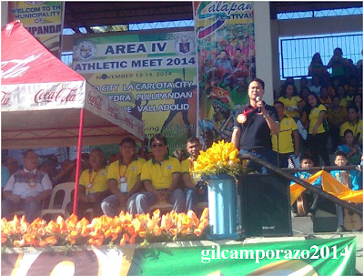 Mayor Peña expects sportsmanship among athletes