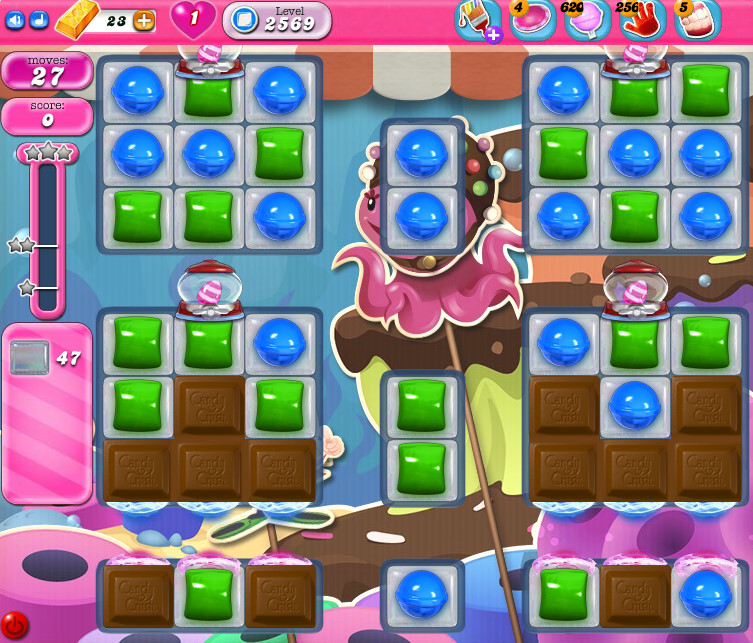 Candy Crush Saga level 2569
