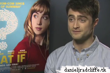 What If press junket interviews (UK)