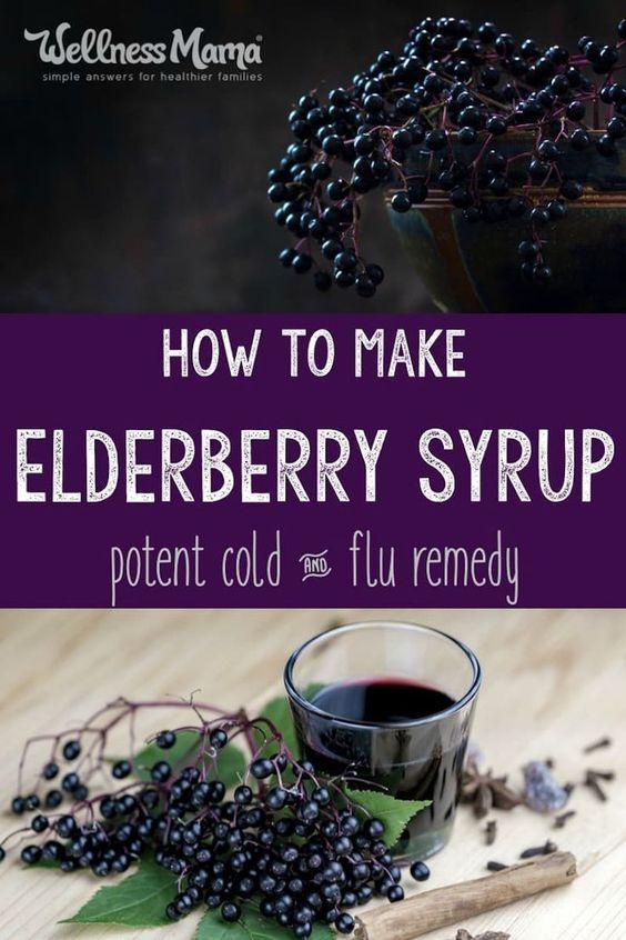 Super Simple Elderberry Syrup Recipe