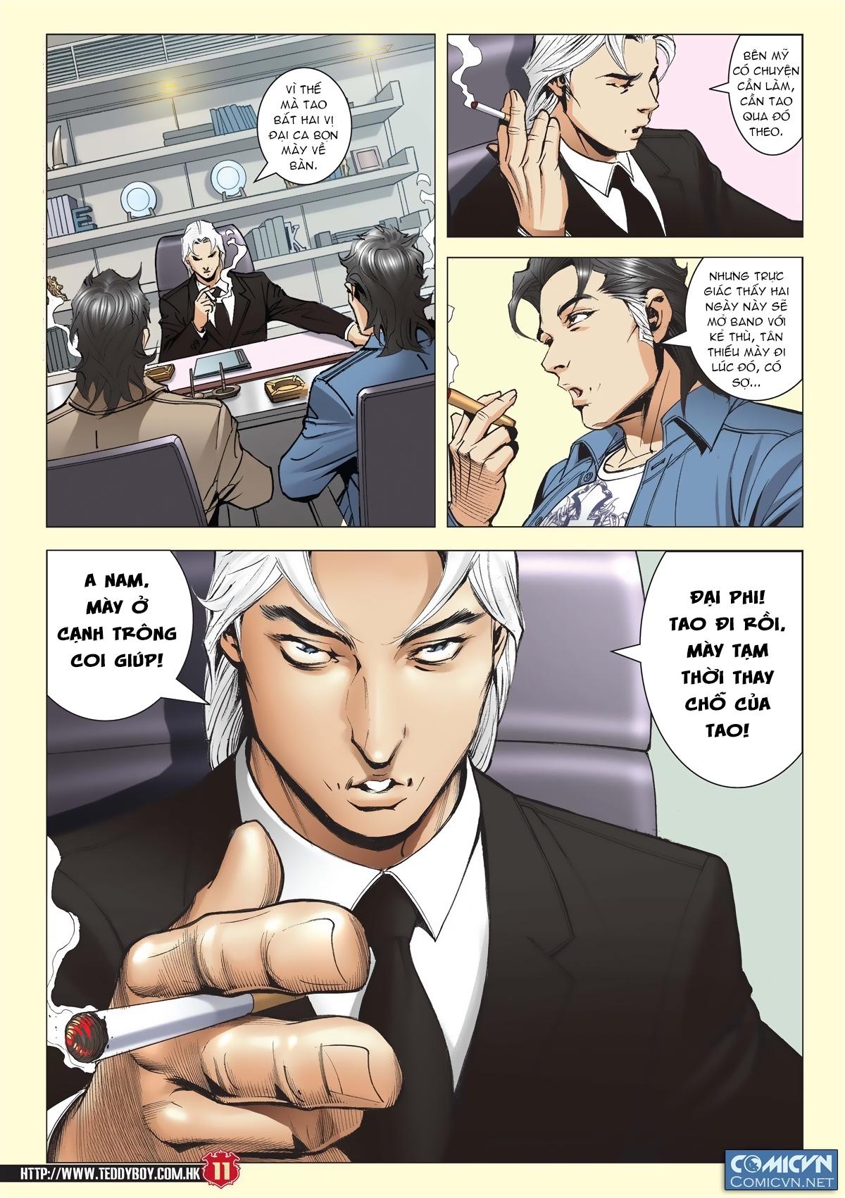 Người Trong Giang Hồ chapter 2011: hàn tân bỏ trốn trang 10