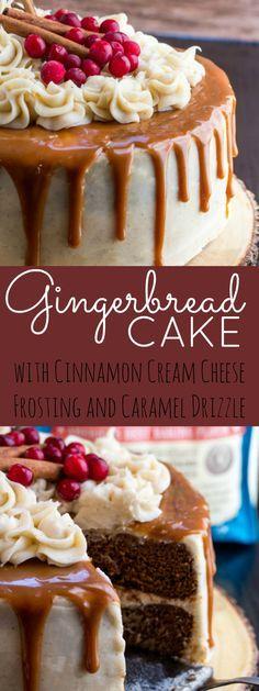 Perfect Gingerbread Cake
