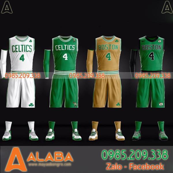 Áo bóng rổ CLB Boston Celtics đặc biệt