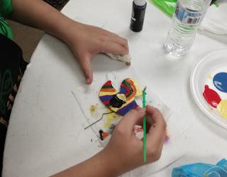 cajun heritage fest queens fest duck painting