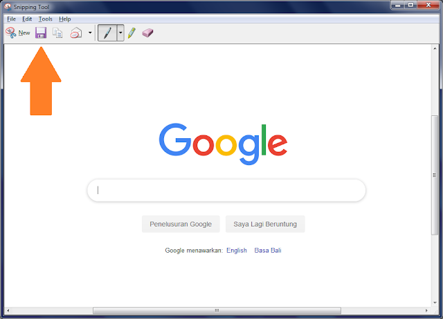 cara screenshot laptop pc
