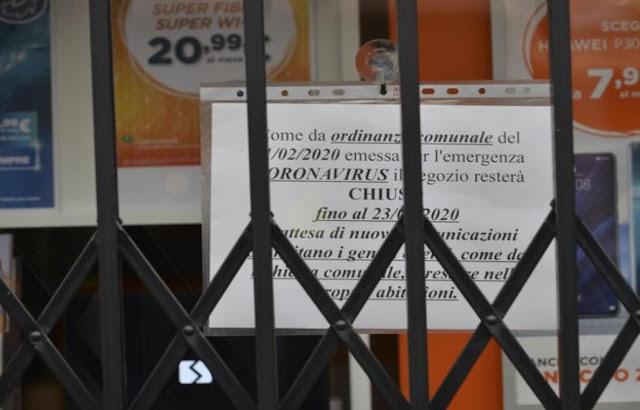 هام جدا بإيطاليا:  تدابير عاجلة لصالح المقيمين بمنطقة الحجر الصحي ضد كورونا:  الإعفاء من أداء جميع الفاتورات والضرائب