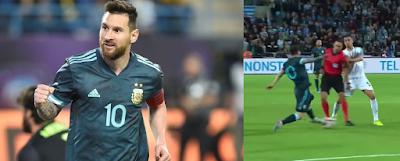 مباراة الأرجنتين  ضد أوروغواي