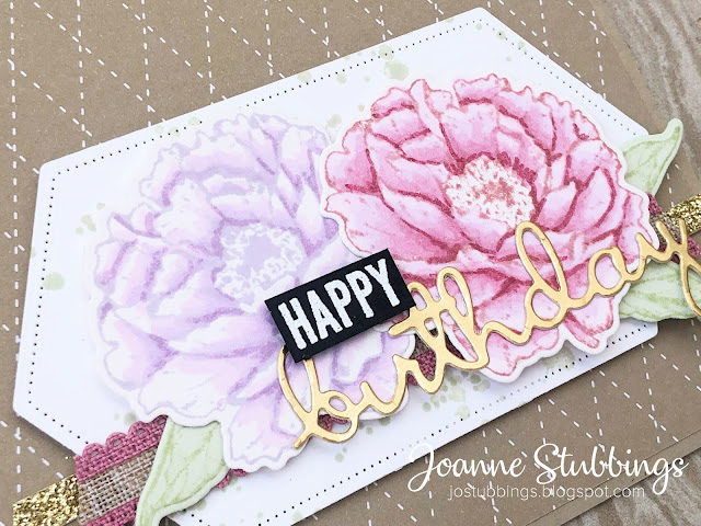 Jo's Stamping Spot - Colour INKspiration Challenge #CI80 using Prized Peony Bundle by Stampin' Up!