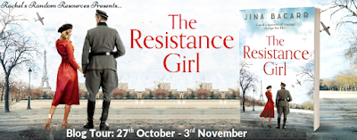 French Village Diaries book review The Resistance Girl Jina Bacarr