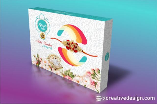 rakhi mithai box design