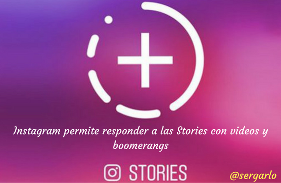 Instagram, redes sociales, stories, videos, boomerang, responder