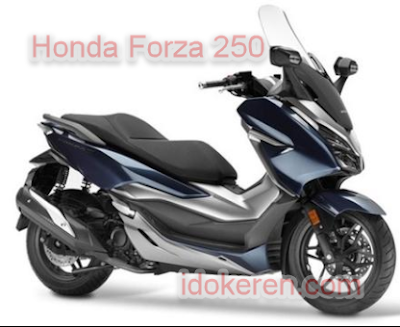 Honda Forza 250. Motor impor asal Thailand
