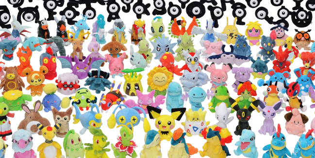 All 2nd Gen Pokemon are Getting Plushies!