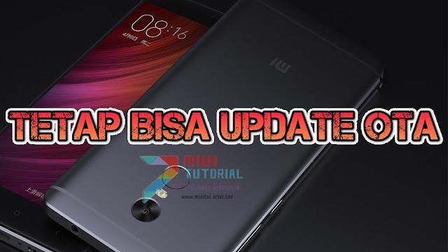 Xiaomi Redmi Note 4X/PRO Kamu Ingin Tetap Bisa Update OTA Miui Sekalipun Sudah Terpasang TWRP Recovery? Ini Caranya