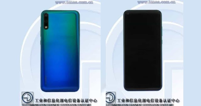 Specifications of a Huawei smartphone with two rear cameras and a hole-punch display leaked