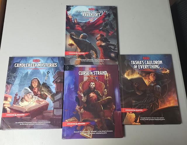 D&D 5 Books