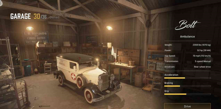 MAFIA: DEFINITIVE EDITION: ALL CARS FOR TOMMY'S GARAGE