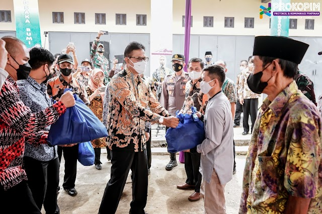 Bupati Ciamis Tutup Kegiatan BBGRM dan  Ajak Masyarakat Budayakan Kembali Tradisi Gotong Royong
