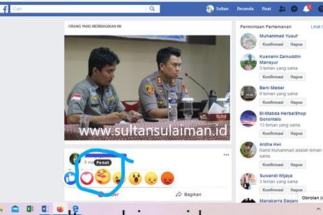 Mengomentari Reaksi Peduli, Emoticon Baru Facebook