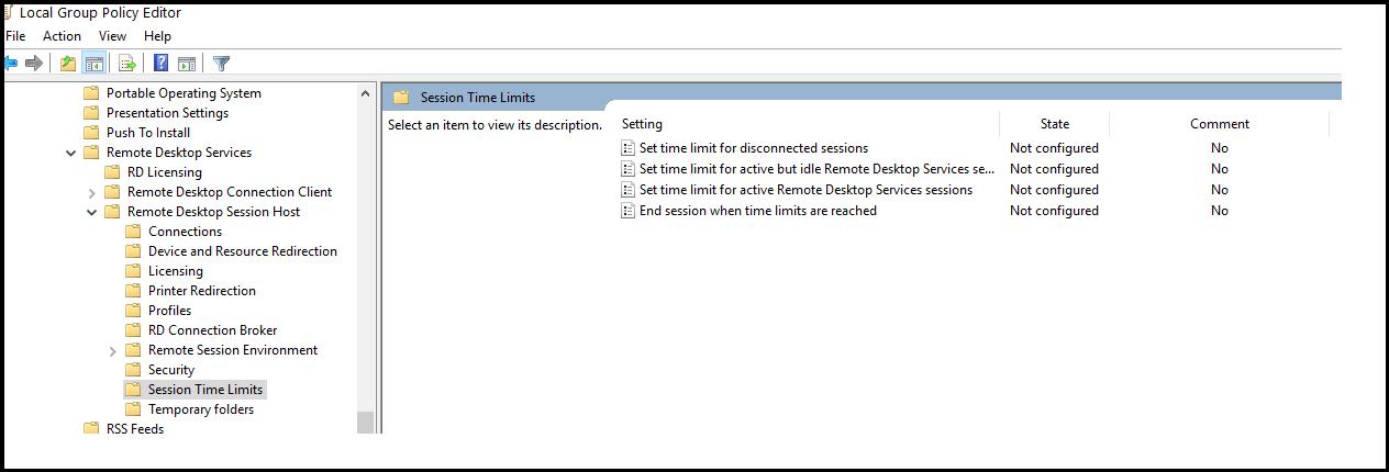 Tech Kiranangal: Windows 10 Remote Desktop Session