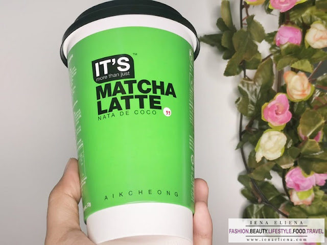 IT'S Matcha Latte Nata De Coco