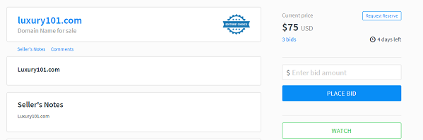Flippa Editor Choice