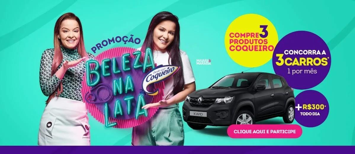 Promoção Coqueiro 2020 Beleza na Lata Maiara e Maraísa