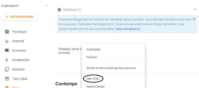 edit html tema blog