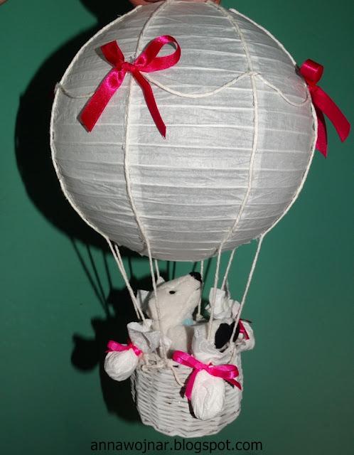 Balon – abażur :)