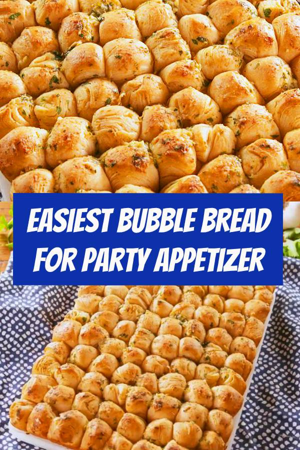This easy recipe is the PERFECT appetizer. Tiny biscuits get coated in TONS of garlic butter, creating salty, doughy, cheesy bites you won't be able to stop eating. #appetizers #appetizer #bites #easyrecipes #party