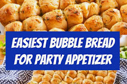 Easiest Bubble Bread For Party Appetizer #appetizers #appetizer #bites #easyrecipes #party