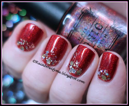 Dance Legend: Pretty Top and Tonic Polish: Santa Baby