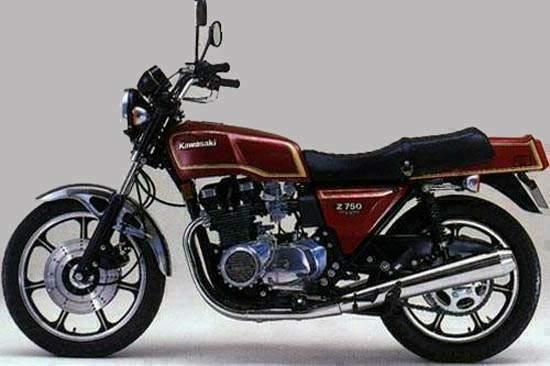 b r moto art kawasaki z750 4 cil 1980 br020. Black Bedroom Furniture Sets. Home Design Ideas