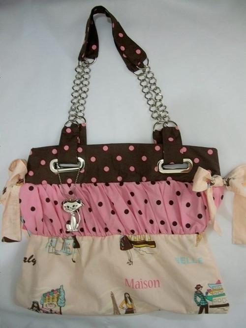 Bolsa De Tecido Linda : Lindos modelos de bolsas