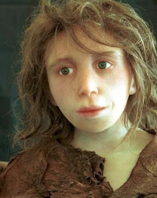 Neanderthal as a young boy