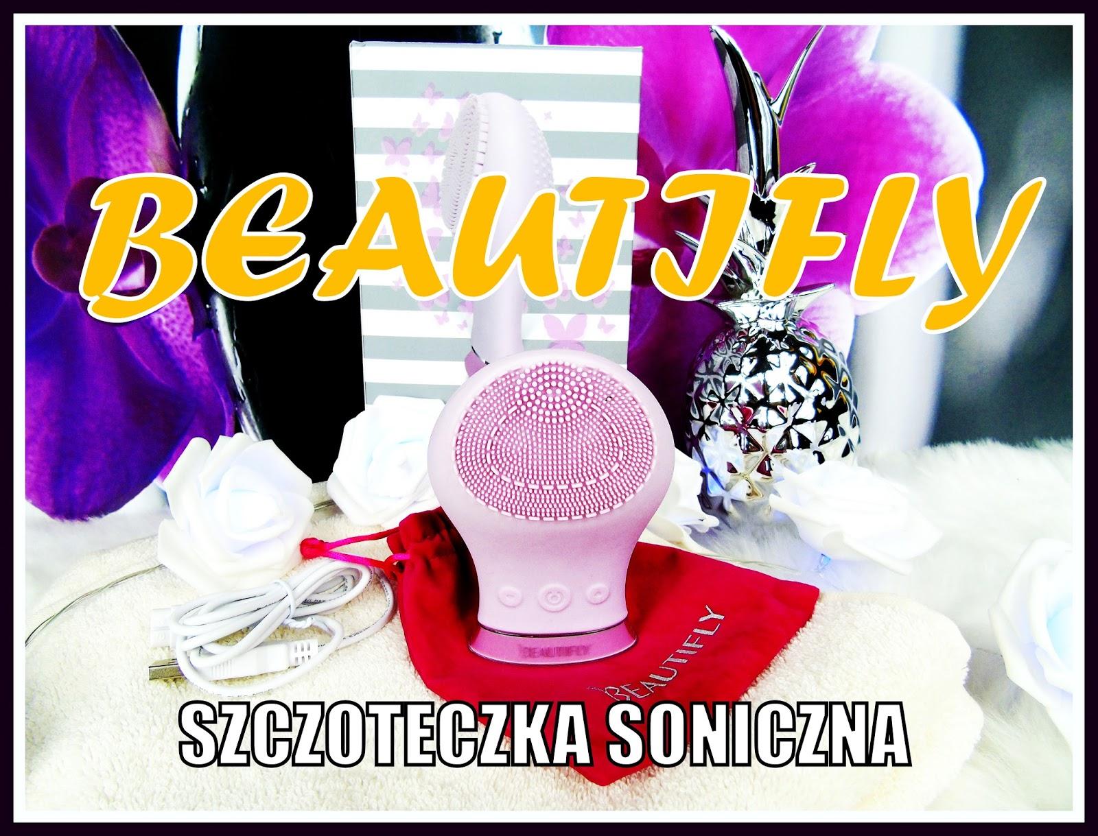 BEAUTIFLY - Ergonomiczna i ekonomiczna szczoteczka soniczna do mycia twarzy
