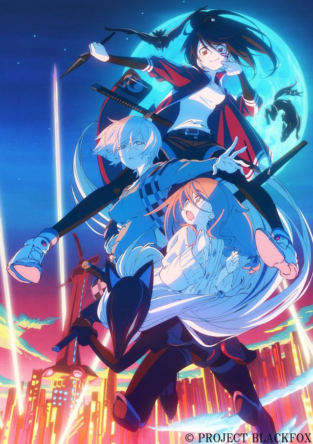 Anime original Black Fox fecha su estreno en cines
