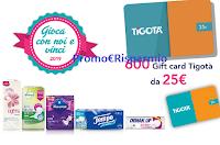Logo Concorso ''Gioca con noi e vinci 2019'': 600 Gift Card Tigotà da 25€