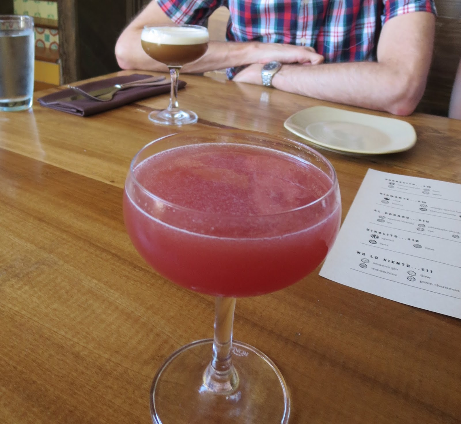 Cocktail at Padrecito in San Francisco