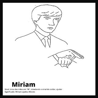 Sinal de Miriam da biblia