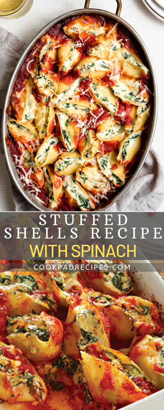Stuffеd Shеllѕ with Spinach