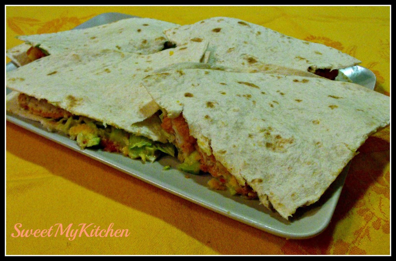 Sweet my Kitchen: Quesadillas de barrinhas