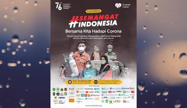 Launching Gerakan #SemangatIndonesia dari Rumah Zakat