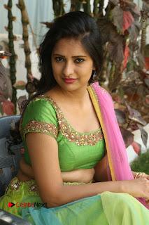 Actress Nikitha Bisht Stills in Lehenga Choli at Pochampally Ikat Art Mela Launch  0334.JPG