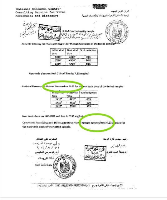 بالمستندات.. مخترع علاج كورونا عالم مصري رهن الاعتقال !