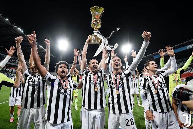 فوز يوفنتوس بكأس إيطاليا بالقميص الجديد 2022